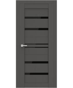 """Межкомнатная  дверь - сибирь профиль """"ЭКО Deliss 302""""  Grey Soft"""