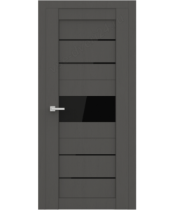 """Межкомнатная  дверь - сибирь профиль """"ЭКО Deliss 303""""  Grey Soft"""