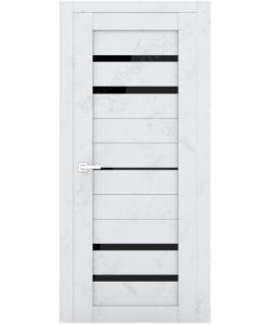 """Межкомнатная  дверь - сибирь профиль """"ЭКО Delux 304""""  бетон - светлый"""