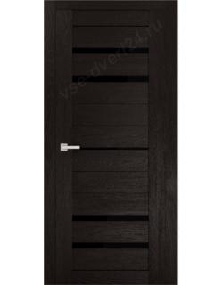 """Межкомнатная  дверь - сибирь профиль """"ЭКО Delux 304""""  перламутр тёмный"""
