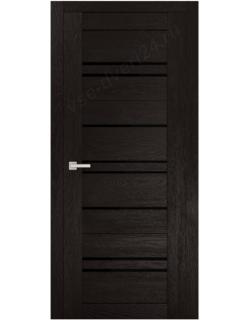 """Межкомнатная  дверь - сибирь профиль """"ЭКО Delux 312""""  перламутр Тёмный"""