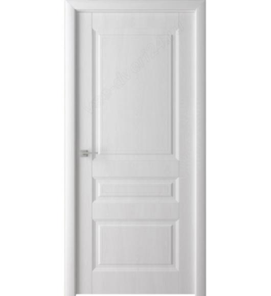 Дверь межкомнатная Сибирь профиль S11  Белый Ясень