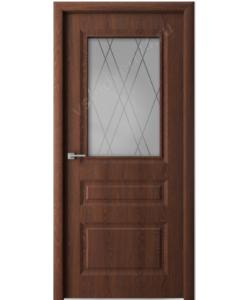 Дверь межкомнатная Сибирь профиль S12  темный дуб