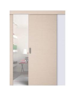 Дверь раздвижная ДПГ, цвет беленый дуб, глухая