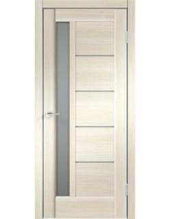 Межкомнатная дверь PREMIER 3, ясень японский, матовое стекло