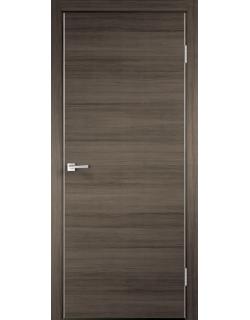 Межкомнатная дверь TECHNO с замком, дуб серый