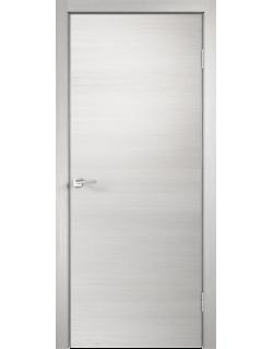 Межкомнатная дверь TECHNO с замком, дуб белый поперечный