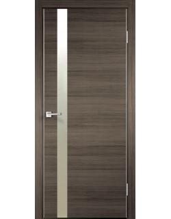 Межкомнатная дверь TECHNO Z1, с замком, дуб серый