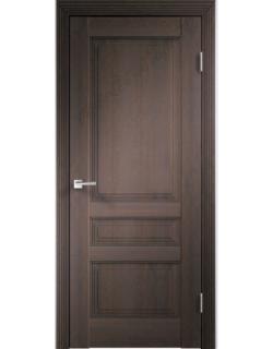 Межкомнатная дверь Laura 3Р, дуб венге, глухая