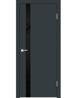 Межкомнатная дверь SCANDI F Z1, антрацит