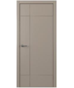 Albero Альфа, экошпон, серый, глухая