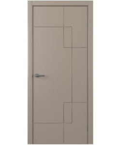 Albero Бета, экошпон, серый, глухая