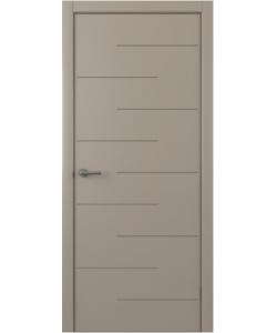 Albero Дельта, экошпон, серый, глухая