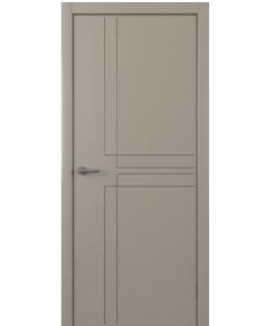 Albero Сигма, экошпон, серый, глухая
