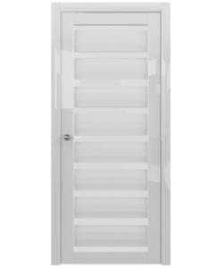 Albero Сидней GL экошпон, белый глянец