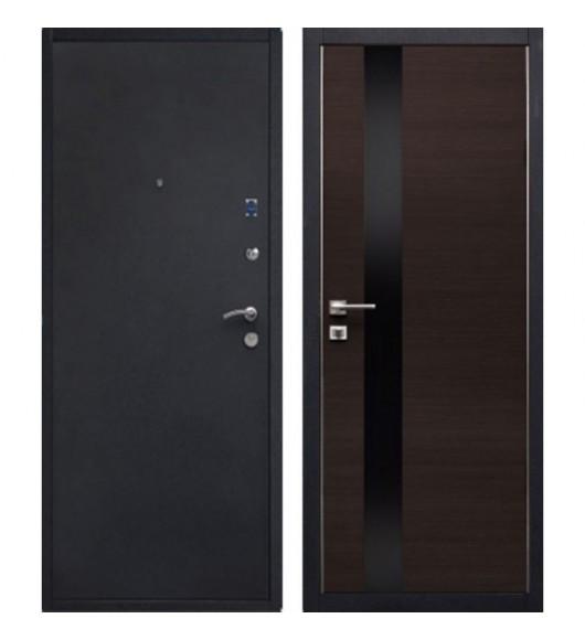 Входная дверь Металлюкс (Бульдорс) венге