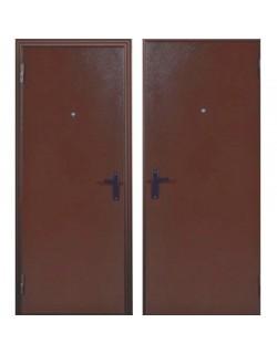 Входная металлическая дверь Строитель металл/металл
