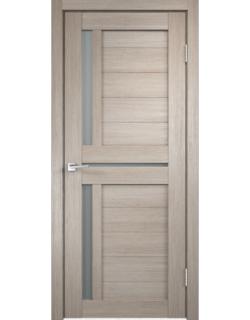 Дверь межкомнатная Velldoris Duplex 3 мателюкс экошпон Капучино