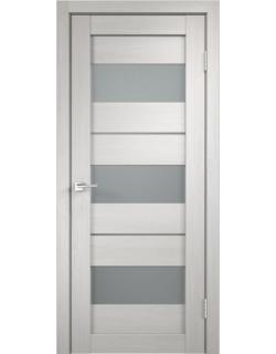 Дверь межкомнатная Velldoris Duplex 12 мателюкс экошпон Белый дуб