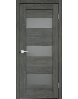 Дверь межкомнатная Velldoris Duplex 12 мателюкс экошпон Дуб Шале графит
