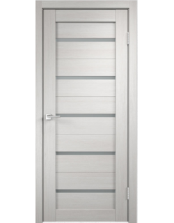 Дверь межкомнатная Velldoris Duplex мателюкс экошпон Белый дуб