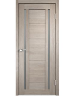 Дверь межкомнатная Velldoris Duplex 2 мателюкс экошпон Капучино