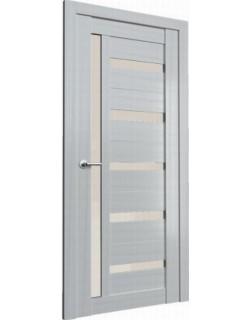 Межкомнатная дверь Fonseca 12 каньон мист, белый лакобель