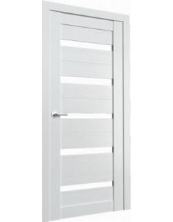 Межкомнатная дверь Fonseca 2 ясень белый, белый лакобель