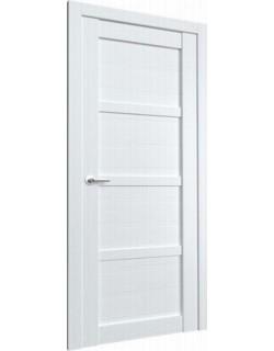 Межкомнатная дверь Vegas 1 ясень белый, глухое полотно