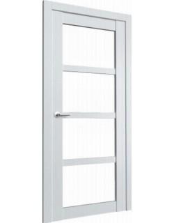 Межкомнатная дверь Vegas 2 ясень белый, белый лакобель