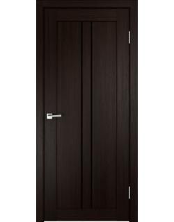 Дверь межкомнатная Velldoris Linea 2 лакобель черное экошпон Венге