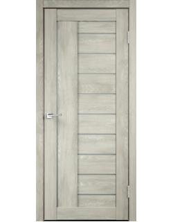 Дверь межкомнатная Velldoris Linea 3 мателюкс экошпон Дуб Шале седой