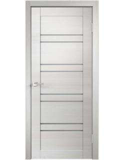 Дверь межкомнатная Velldoris Linea 8 мателюкс экошпон Дуб белый поперечный