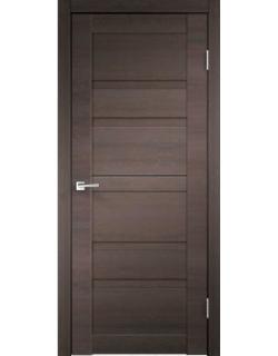 Дверь межкомнатная Velldoris Linea 6 глухое экошпон Венге Браш