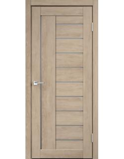 Дверь межкомнатная Velldoris Linea 3 мателюкс экошпон Дуб шале песок