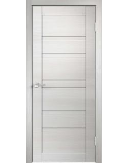 Дверь межкомнатная Velldoris Linea 6 глухое экошпон Белый дуб