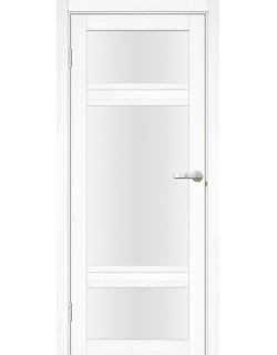 Дверь межкомнатная Апулия 2 велюр белый