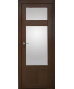 Дверь межкомнатная Апулия 3 дуб темный