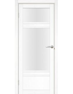 Дверь межкомнатная Апулия 3 велюр белый