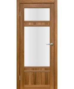 Дверь межкомнатная Апулия 3 вельвет орех