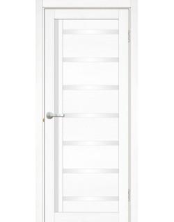 Дверь межкомнатная Базиликата 1 велюр белый