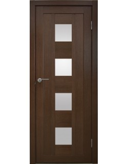 Межкомнатная дверь Эмилия 1 Дуб темный
