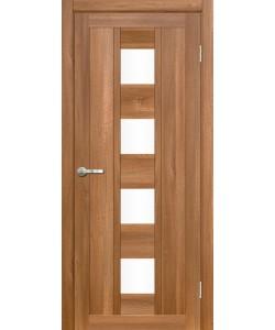 Межкомнатная дверь Эмилия 1 Вельвет орех