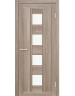 Межкомнатная дверь Эмилия 1 Велюр серый