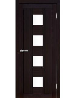 Межкомнатная дверь Эмилия 1 Велюр шоко