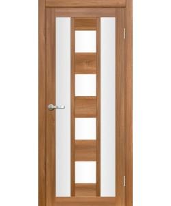 Межкомнатная дверь Эмилия 2 Вельвет орех