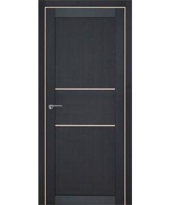 Дверь межкомнатная Гвинея 1 велюр шоко