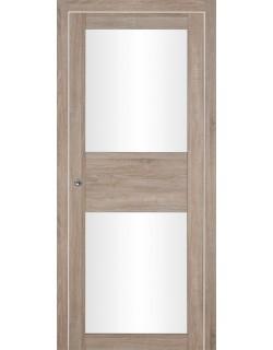 Дверь межкомнатная Гвинея 2 велюр серый