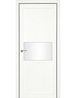 Дверь межкомнатная Гвинея 3 велюр белый