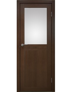 Межкомнатная дверь Кампания 3 Дуб темный